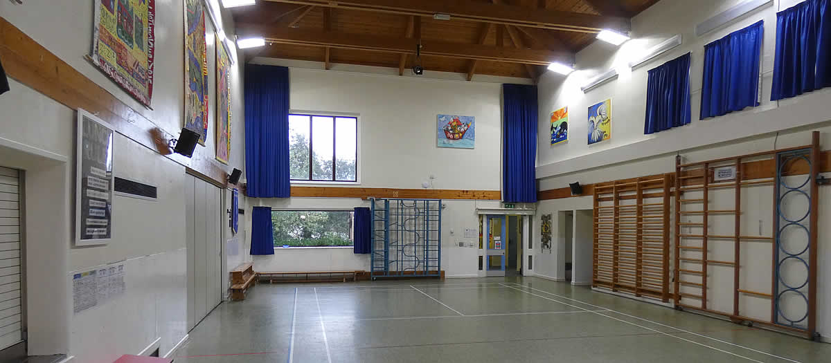 Sports Hall at Brixton School and Community Centre